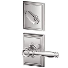 Schlage F59-BIR-ADD Birmingham Single Cylinder Interior Pack with Decorative Add
