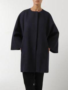 MSGM-cappotto blu-blue coat-MSGM shop online