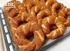 Donut Recipes, Onion Rings, Bagel, Doughnut, Donuts, French Toast, Bread, Cooking, Breakfast