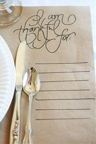 thanksgiving...love this idea at place-setting. - thanksgiving...love this idea at place-setting.  Repinly DIY & Crafts Popular Pins