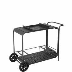 CALYPSO Servierwagen anthrazit - Outdoor Living