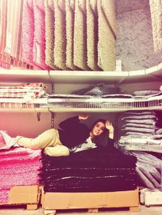 """@/ZoeyDeutch: My only safe place in ikea, amongst the hidden rugs."""