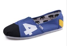 Cheap Toms blue men shoes sale