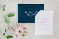 Oh The Sweet Things - Calligraphy - Main Invitation & Monogram