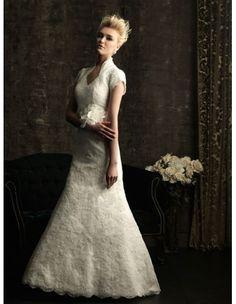 Allure M484 Modest Wedding Dress :: Margene's Bridal