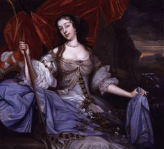 John Michael Wright (British artist, Barbara Palmer, nee Villiers, Duchess of Cleveland 1670 She was Charles II's primary mistress for years - and a right bitch she was! British History, Art History, History Major, Marchesa, Funeral, The Shadow Queen, Charles Ii Of England, Cleveland, House Of Stuart