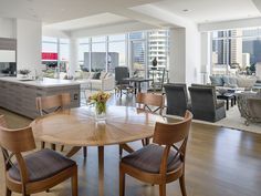 Overlooking Klyde Warren Park, the Parkside home at 2025 Woodall Rogers #51 is listed for $2,600,000.