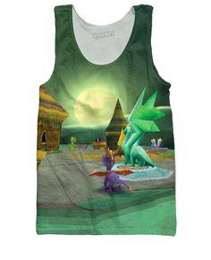 8df4f96ca55e4 Spyro the Dragon Tank Top Cartoon Outfits