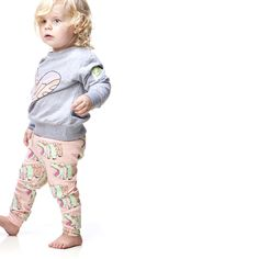 HILDA HIPPIE HIPPO LEGGINGS PINK, minilo.ch Gardner And The Gang, Pink Leggings, Children, Kids, Organic Cotton, Cool Outfits, Capri Pants, How To Wear, Clothes