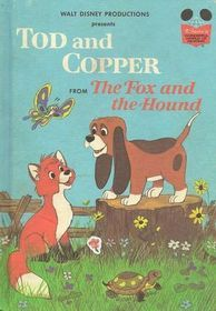 Disney The Fox And The Hound Figures Jouets Tod And Copper RARE