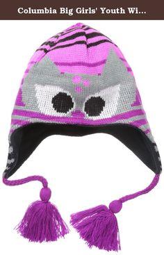 da5b46188 Skiing Columbia Girls Big Youth Winter Worn Peruvian, Hats