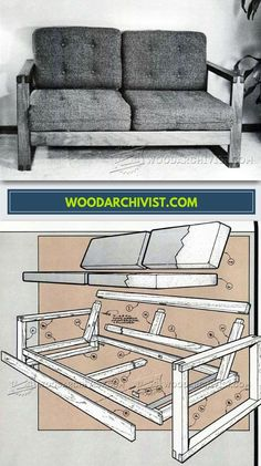 DIY Loveseat - Furniture Plans and Projects | WoodArchivist.com
