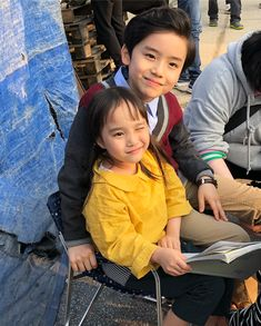child actors from What's wrong with secretary kim? they did great job