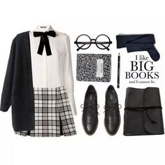 Take a look at the best affordable school uniforms in the photos below and get ideas for your school outfits! Cute Fall Outfits, Preppy Outfits, Kpop Outfits, Fashion Outfits, Womens Fashion, Cute Nerd Outfits, Geek Chic Outfits, Fandom Outfits, Fashion Books