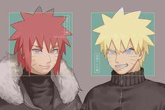 Naruto Fan Art, Naruto Sasuke Sakura, Naruto Uzumaki Shippuden, Naruto Cute, Naruto Shippuden Anime, Sasunaru, Naruto Painting, My Hero Academia, Naruto Oc Characters
