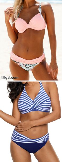 cute bikinis, bikinis bikini set    #liligal #swimwear #swimsuit