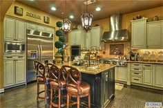 Gourmet Chef's Kitchen. Kerrigan Ranch, Yorba Linda, Ca. #orangecounty