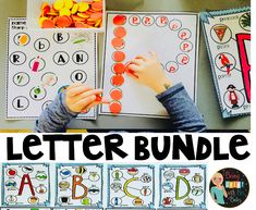 Learning Letters - I love these all these learning letters ideas. I was working with my own son and I wanted somethin - Letter Activities, Classroom Activities, Reading Resources, Teacher Resources, Learning Letters, Fun Learning, Kindergarten Lessons, Childhood Education, Phonics
