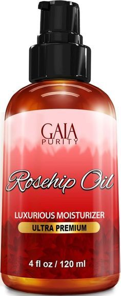 Rosehip Oil Natural Anti-Aging Properties COLD PRESSED DEEP SKIN HYDRATION 4oz 1 RATED, PREMIUM GRADE LIFETIME - GAIA PURITY provides NATURAL, Premium Grade Rosehip Seed Oil that contains no chemicals or pesticides. If you are at any point ever unsatisfied with your purchase we will provide a 100% full refund, guaranteed. DEEP SKIN HYDRATION - Gaia Purity Rosehip Oil soaks deep into dry or damaged skin and does not leave a greasy residue, allowing it to quickly replenish and revitalize your…