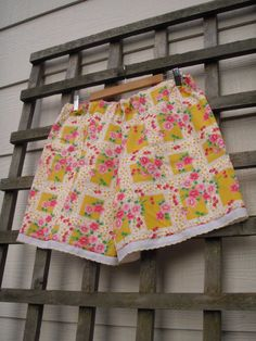 Bright Prairie Chic Bloomer Shorts/ Cherry by FuriousDesigns, $38.00