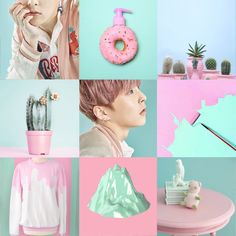 EXO Xiumin Lucky one treaser photo PASTEL aesthetic