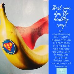 #FunFactFriday start the day with a banana for clearer, brighter & better skin health. #dianasays #glowingskin pic via @runnersworld