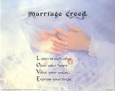 marriage creed - Google Search