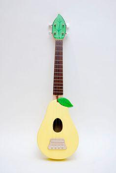 chikorita -- cant tell if guitar or ukelele though-->four strings, ukulele Ukulele Art, Cool Ukulele, Ukulele Chords, Music Guitar, Cool Guitar, Painted Ukulele, Ukulele Design, Instruments, Play That Funky Music