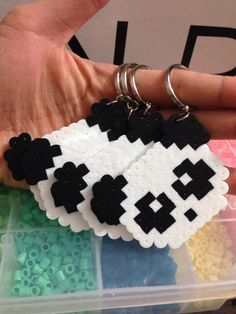 Our panda perler keychains are here!! Please ask all questions prior to purchase. Mahalo for your patronage