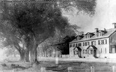 Golden Hall Inn, Waterloo Row – Fredericton Golden Hall, New Brunswick, Historical Society, The Row, Island, York, History, Architecture, Painting