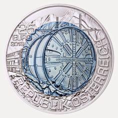 "coins and more: 171) The ""25 Euro Silver-Niobium Coin Series"": (xi..."