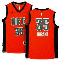 84fdd99e205c OKC Thunder  35 Kevin Durant 2015-16 Alternate Orange Jersey Durant Nba