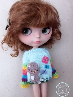 Special bear sweater for September Wellcome Autumn by Mitilene, €25.00 `b<3