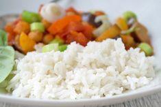Die Zubereitung des sehr aromatische, langkörniger Basmatireis im Dampfgarer ist sehr einfach. Steamer, Grains, Food And Drink, Rice, Snacks, Healthy, Kitchen, Recipes, Cooking Rice