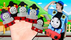 Thomas the Tank Engine Finger Family   Thomas and Friends Finger Family ...