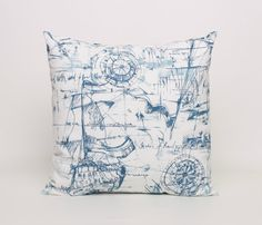 Hey, I found this really awesome Etsy listing at https://www.etsy.com/uk/listing/190578067/nautical-throw-pillow-cover-blue-and