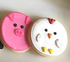 Galletas animales de la granja 2 docenas por TheSweetShopCookieCo