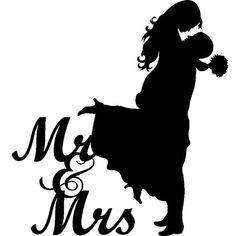 Sticker Mariage Mr & Mrs 1 Decorate your bedroom or the one of your children easily with this nice wall decal Mr & Mrs . Brighten your walls with nice stickers! Couple Silhouette, Wedding Silhouette, Silhouette Projects, Silhouette Design, Silhouette Cameo, Bride And Groom Silhouette, Mr Mrs, Machine Silhouette Portrait, Wedding Cards