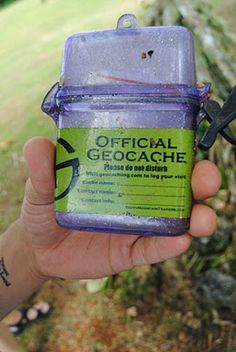 geocaching in GUAM!