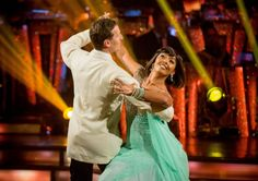 Blackpool bound: Sunetra Sarker and Brendan Cole on the dance floor.