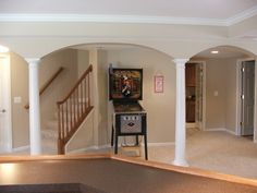 tips to hide your basement poles