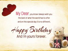 18 best best wishes images images on pinterest happy birthday bday wishes for girlfriend m4hsunfo