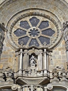 Detail of Cathedral of Porto #Portugal http://www.enjoyportugal.eu/#!porto-and-north/c1yvw