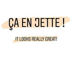 Ça en jette ! It looks really great!