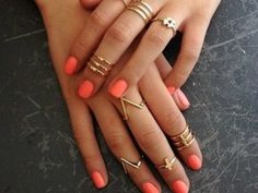 DIY Knuckle Rings that will knock your socks off via allwomenstalk.com