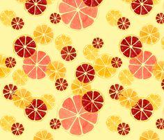 Juicy_Citrus fabric by meduzy on Spoonflower