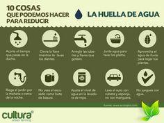 Ahorrar agua, 10 consejos básicos. #agua #piensaverde