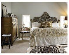 Greige bedroom