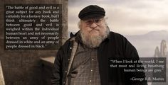 13 Lessons George R.R. Martin Has Taught Us About Writing <= I'm going to have to read these, aren't I? the one time I wanted to spare myself heartbreak...