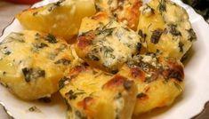 Cea mai buna garnitura! Cartofi la cuptor cu usturoi si unt, incearca neaparat aceasta reteta!